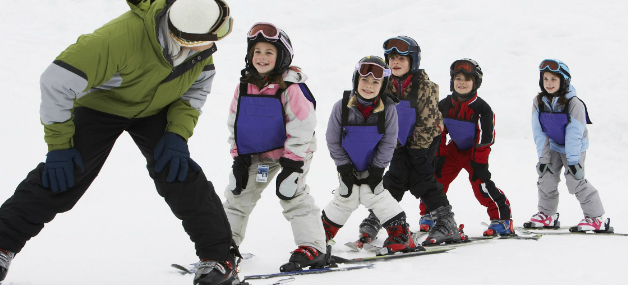 Cours de ski pour enfants